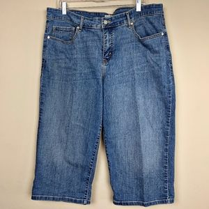Levi's Capri Crop Jeans SZ 20